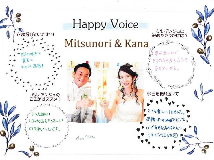 Mitsunori & Kana