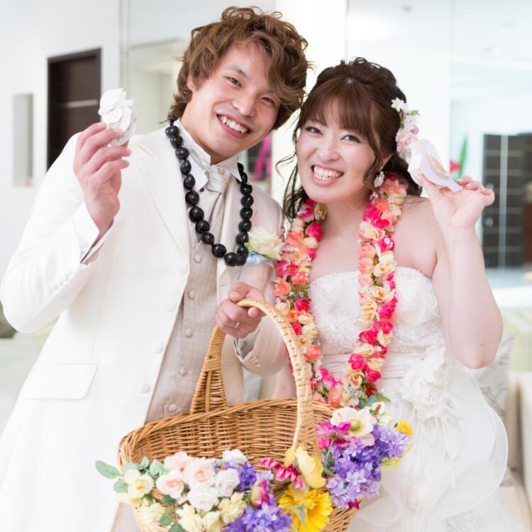 一生忘れられない日~ハワイウエディングのような結婚式~