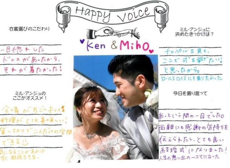 Ken & Miho